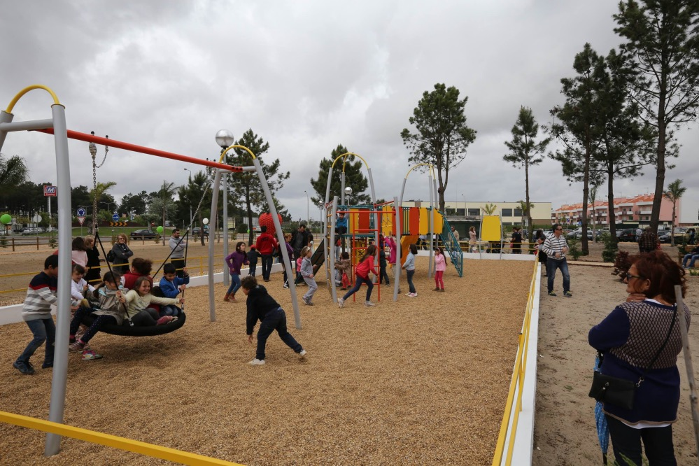 Parque Urbano Brejos Azeitão inauguração