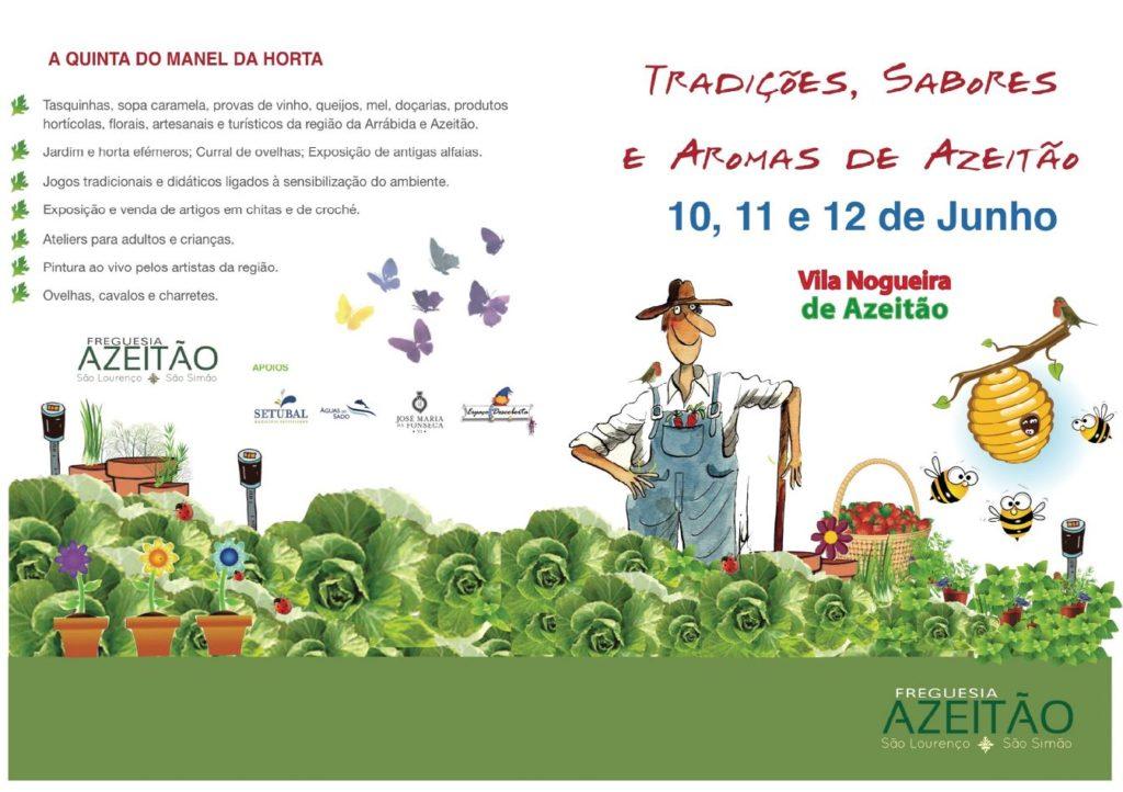 TRADIÇÕES, SABORES E AROMAS DE AZEITÃO
